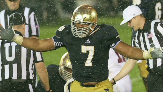 Big game for Notre Dame's Stephon Tuitt