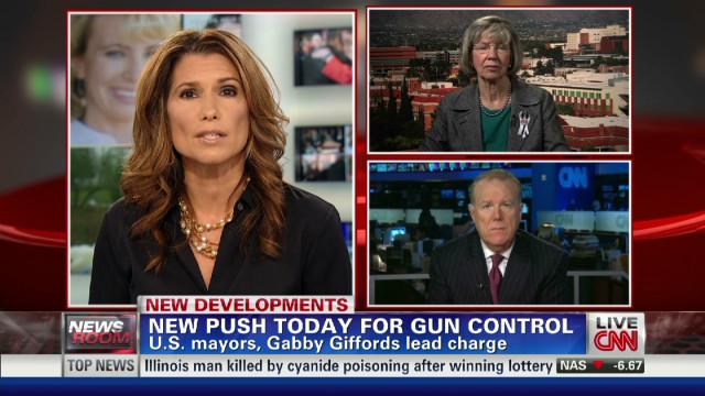 New push for gun control