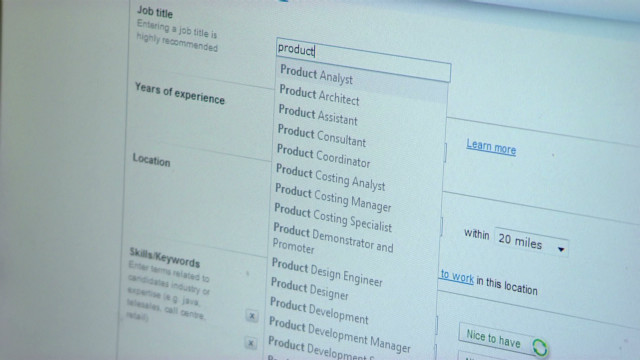 Software weeds out weak resumes