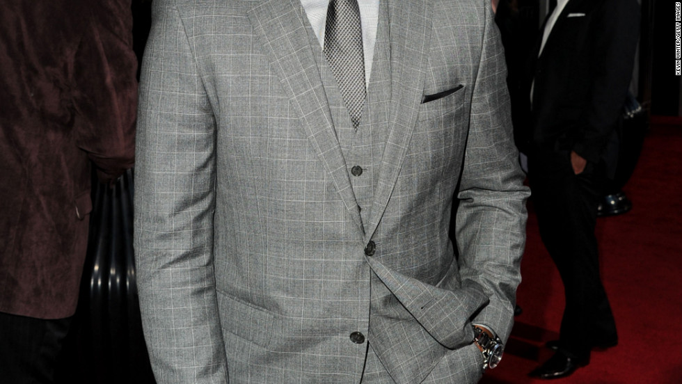 """Anthony Mackie arrives at the """"Gangster Squad"""" premiere in Hollywood."""