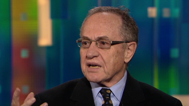 Dershowitz: Jones 'was an exhibit'