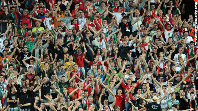 A group of Hungary fans were found by a FIFA investigation  to have aired anti-Semitic chants during a match with Israel