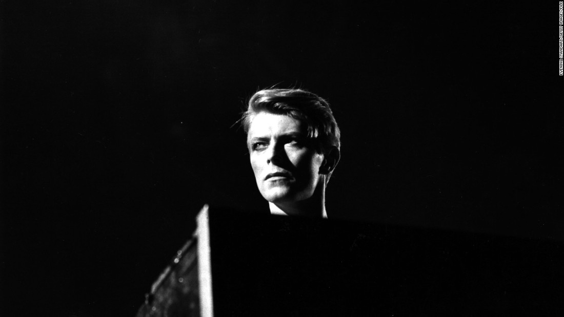 Bowie appears in concert at Earl's Court, London, during his 1978 world tour.