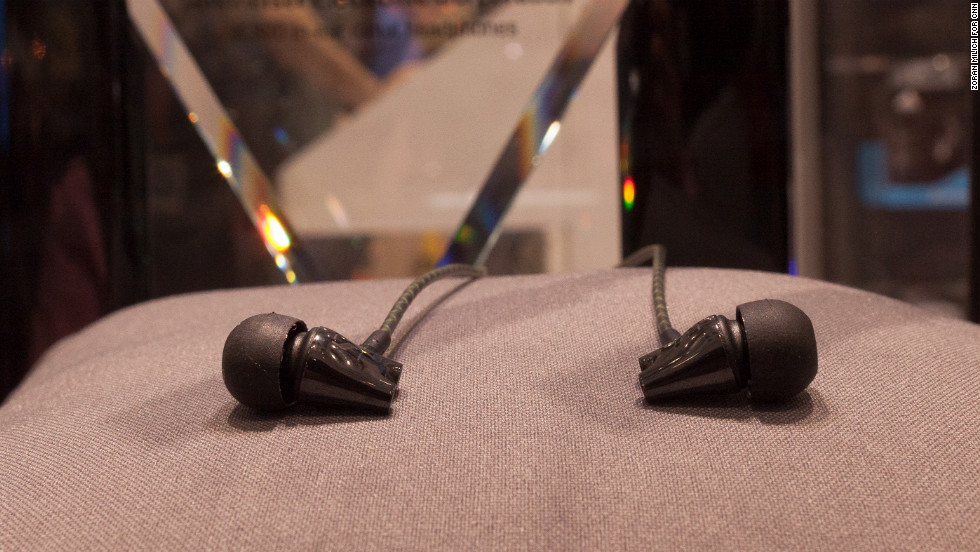 Wealthy audiophiles will love these high-end, expensive IE 800 ceramic earphones by Sennheiser. They'll set you back a cool $1,000.