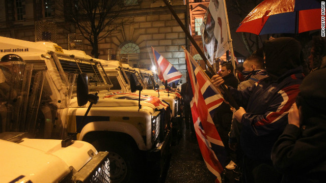 Loyalists feel sold out by violence