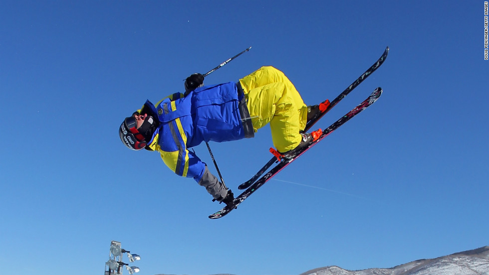 Slopestyle skiers perform a series of tricks on a course laden with jump-off opportunities while the ski halfpipe discipline is similar, though the track is a semi-circular ditch carved out of the snow.
