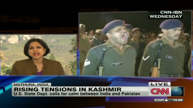 Rising tensions in Kashmir