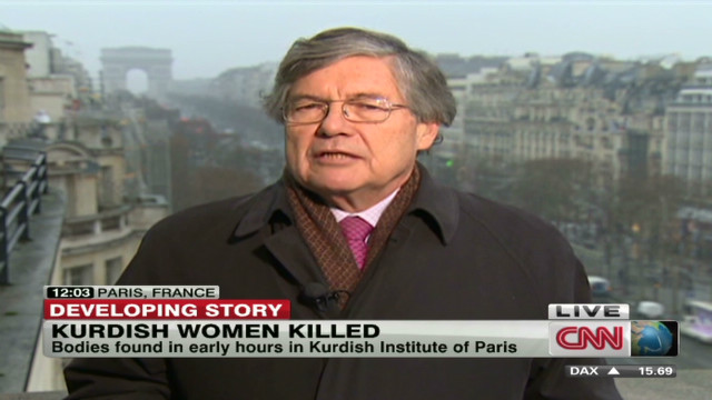 Kurdish women killed in Paris