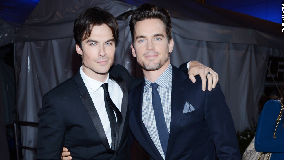 Ian Somerhalder and Matt Bomer