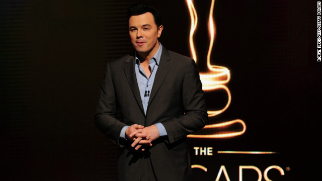 MacFarlane: I'm the wrong guy for Oscars