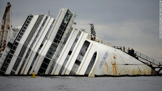 Report shows doomed ship's last moments