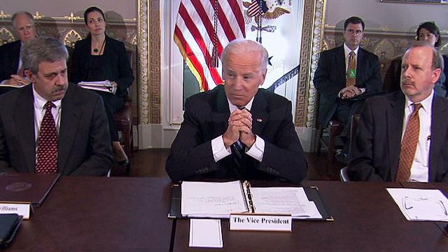 Biden and NRA talk gun control