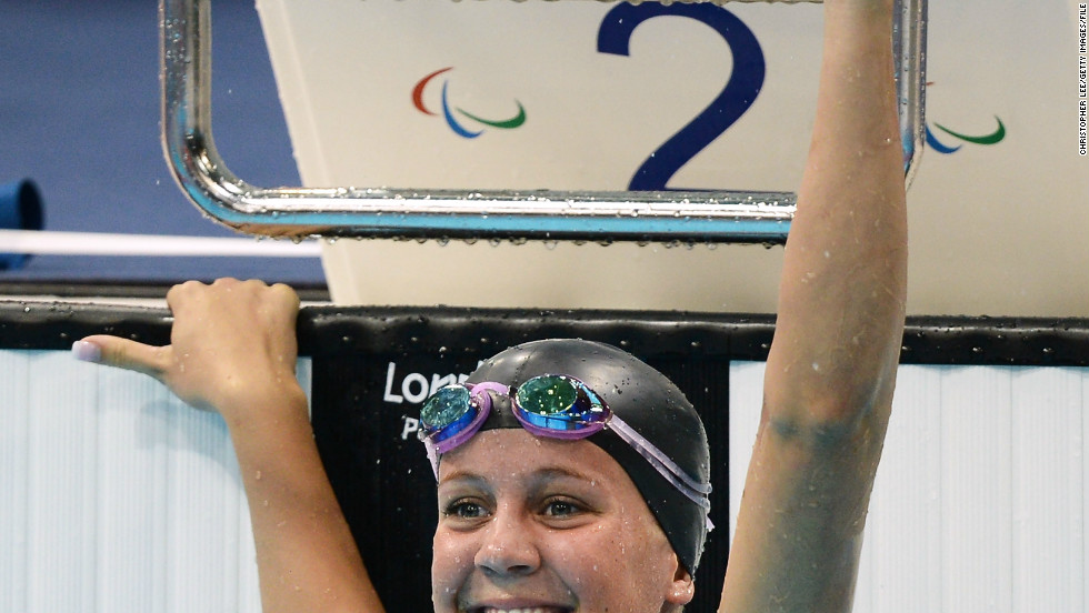 Weggemann's first love is swimming and her crowning achievement was taking gold in the 50m freestyle at the 2012, Paralympics in London. She also won a bronze at the Games to add to her 13 World Championship golds, her 15 world records and 34 American records.
