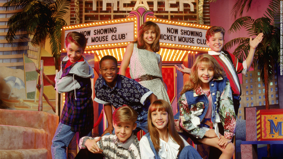 "Gosling, bottom left, also appeared in nostalgic kid TV classics like ""The All New Mickey Mouse Club,"" ""Are You Afraid of the Dark?"" and ""Goosebumps."""