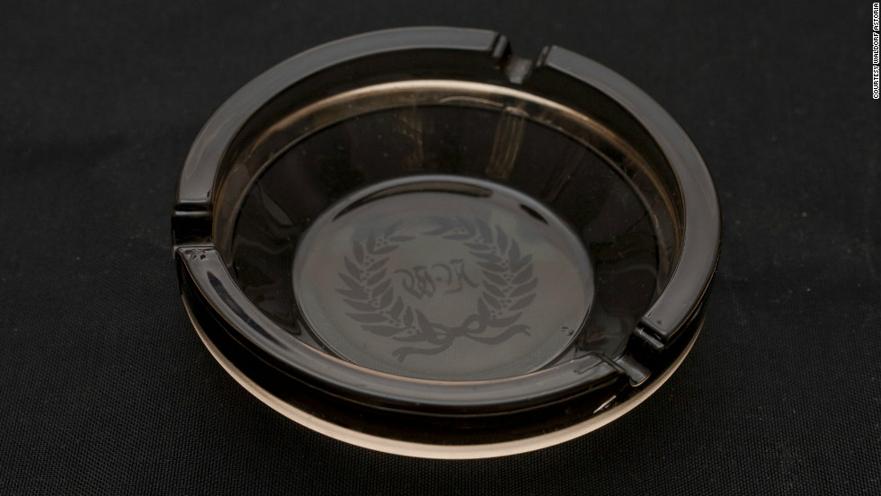 One of the more recent arrivals to the amnesty program, this ashtray is estimated to be from the 1970's or 80's.