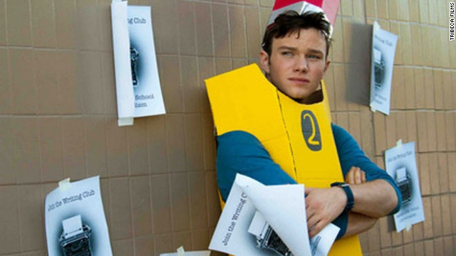 "Chris Colfer stars as Carson Phillips in ""Struck by Lightning."""