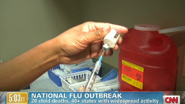 Fast-spreading flu starting to slow?