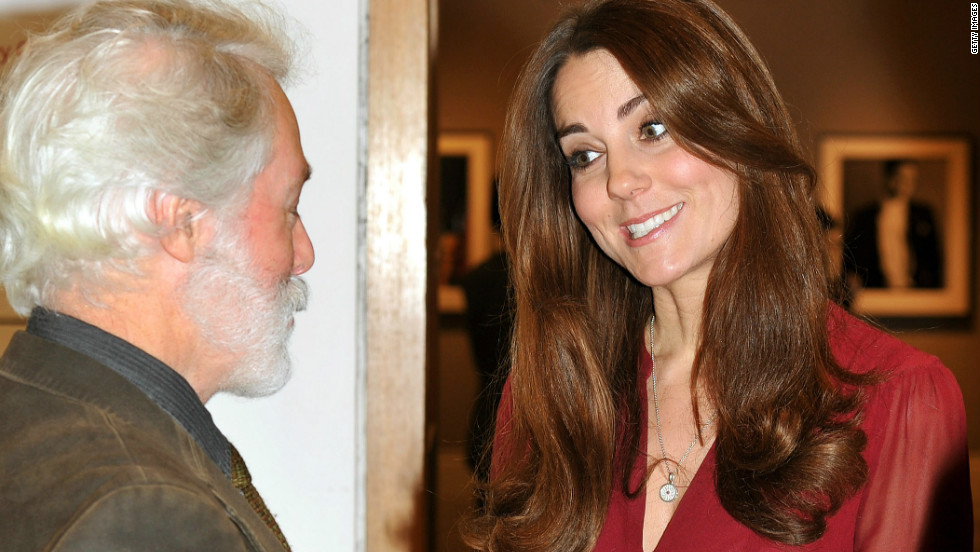 "The duchess is said to have asked to be portrayed naturally, and Emsley said he had chosen to show her smiling, because ""that is really who she is."""