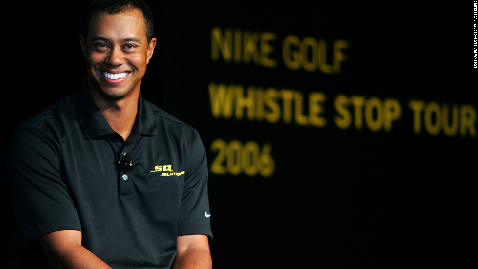 Woods signed a deal reportedly worth $40 million with Nike when he turned pro in 1996 and the firm built their golf business around him in the coming years. When he renegotiated in 2000, a five-year deal was said to have earned him $100m. But of late, his star has waned.