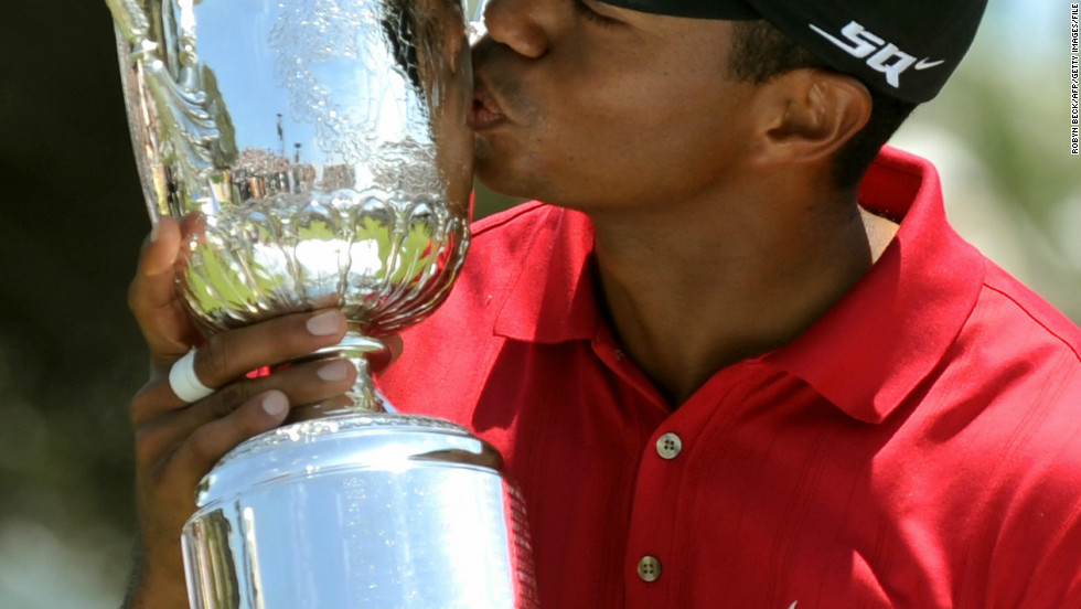 """Tiger's last major title -- his 14th in total -- came at the 2008 U.S. Open. The following year news of his extra marital affairs broke and he took a break from the game. Nike stood by him, chairman Phil Knight calling it a """"minor blip"""" but the 37-year-old has struggled to recapture his best form since."""