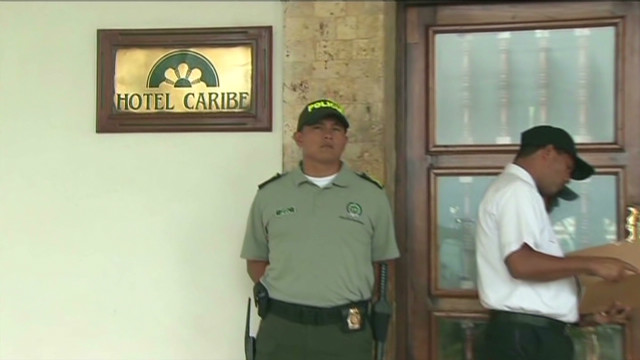 Soldier reprimands for Colombia scandal