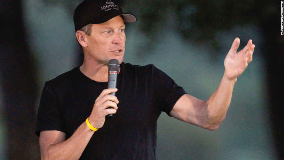"""Lance Armstrong will sit down with Oprah Winfrey for <a href=""""http://www.cnn.com/2013/01/08/showbiz/lance-armstrong-oprah/index.html"""" target=""""_blank"""">his first television interview </a>since being stripped of his Tour de France titles. Winfrey will reportedly ask him to address a U.S. Anti-Doping Agency report that said there was overwhelming evidence that the cyclist doped. The interview airs Thursday."""