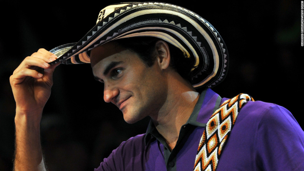 In December, Federer made a tour of South America, playing exhibition matches in Colombia, Brazil and Argentina.