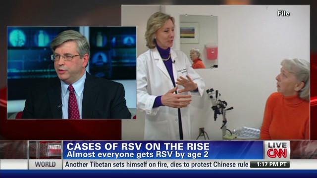 RSV hospitalizations rise