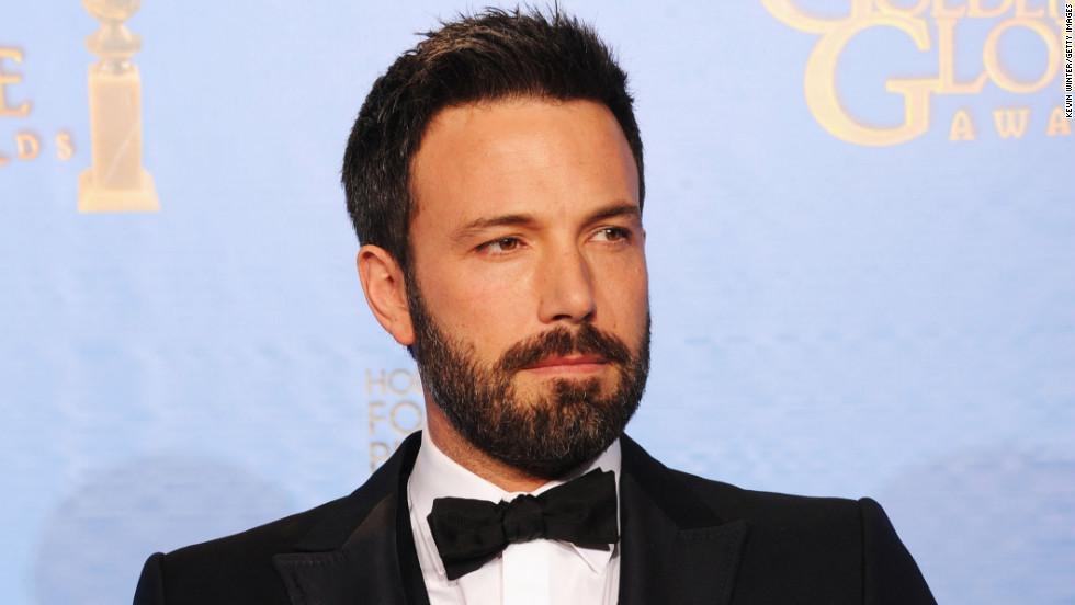 """After an Oscars snub, Ben Affleck was bestowed the best director Golden Globe for """"Argo."""""""