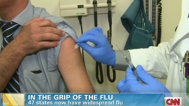 What makes flu outbreak an 'epidemic'?