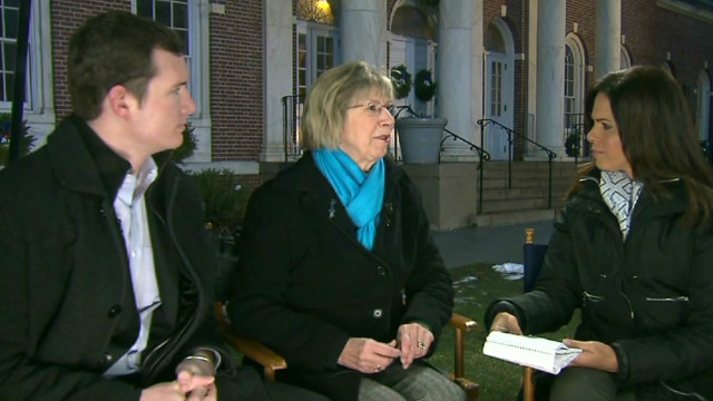 Shooting survivors support Newtown