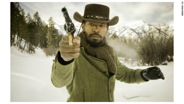 Foxx's Django is the film's only black character to show interest in gaining freedom, Jesse Williams argues.