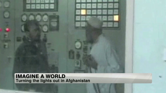 Turning off the lights in Afghanistan