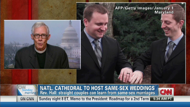 National Cathedral allows gay weddings
