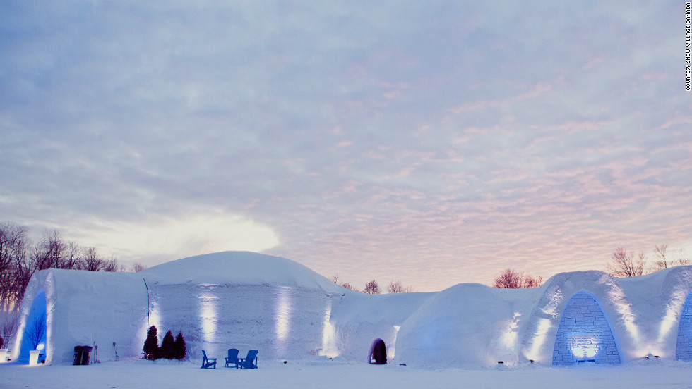 Montreal's Snow Village officially opens on January 18. An ice hotel, ice bar and ice restaurant are among the frozen offerings open Thursday through Monday this season.