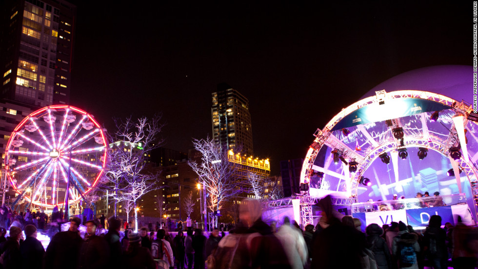 Montreal's winter festival, called Montreal en Lumiere, will operate this year from February 21 to March 3.