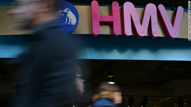 Britain's last major high-street entertainment retailer, HMV, starts 2013 in a perilous position.