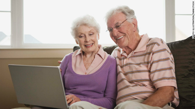Grandparents who may be otherwise technology-averse are adopting new trends to keep up with the younger generation.