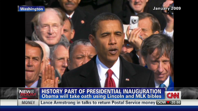 Son of MLK on Pres. Obama's inauguration