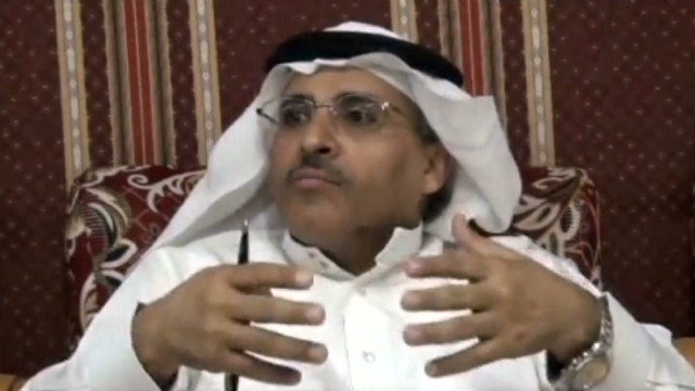 Mohammed Al-Qahtani said he's on trial because his group is trying to expose human rights violations in Saudi Arabia.