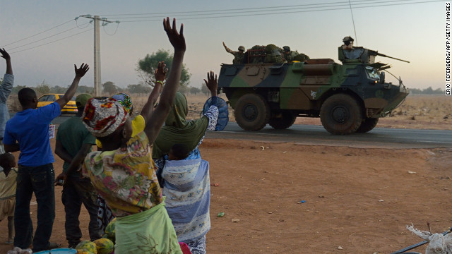 French 'liberators' welcomed in Mali