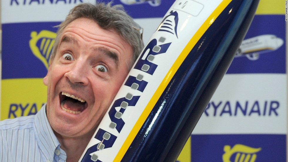 According to a Ryanair spokesperson, Michael O'Leary, the CEO of the budget airline is considering a new system that would allow passengers to gamble during flights.