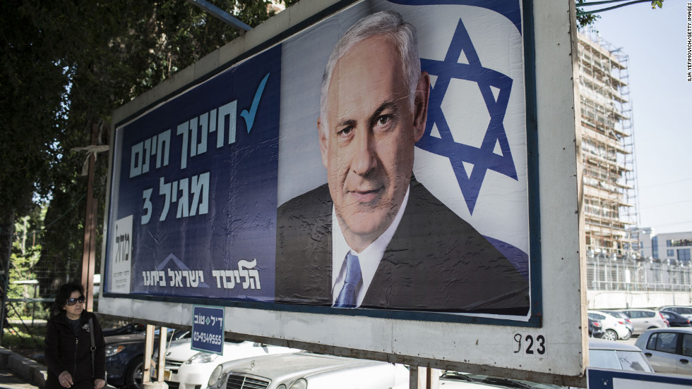 "Israelis head to the polls on Tuesday. Pundits <a href=""http://edition.cnn.com/2013/01/17/world/meast/israel-elections/index.html"" target=""_blank"">predict an easy victory</a> for Prime Minister Benjamin Netanyahu and a right-leaning Knesset, Israel's parliament."