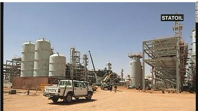 The In Amenas gas field in eastern Algeria.