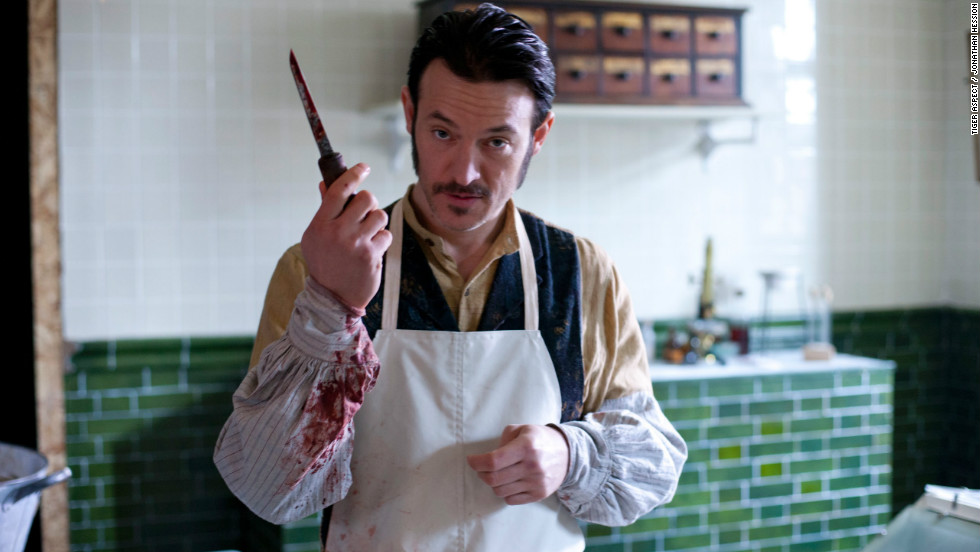 "Capt. Homer Jackson, played by Adam Rothenberg, is an ex-Pinkerton detective with an interest in early forensics. ""He's making it up as he goes along. Jackson is doing autopsies and handling evidence, drenched in blood and smoking cigarettes,"" Rothenberg said."