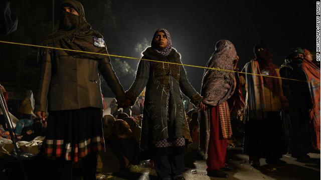 Anti-corruption protests in Pakistan