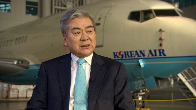 Korean Air CEO 'confident in Boeing'