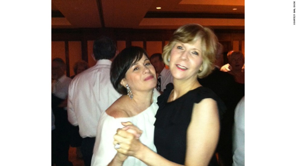 Gail Dosik and Jackie Stevens have been together for 30 years.