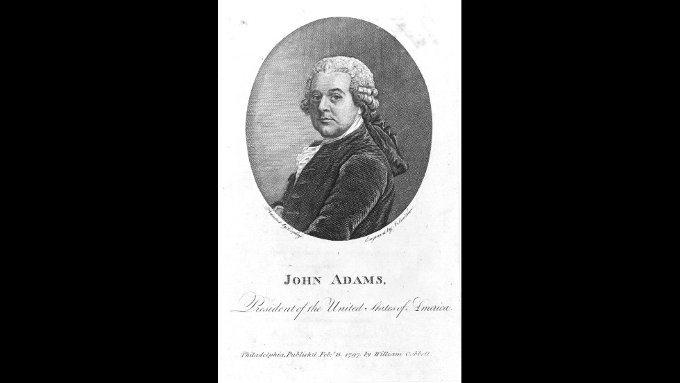 John Adams was inaugurated on March 4, 1797.