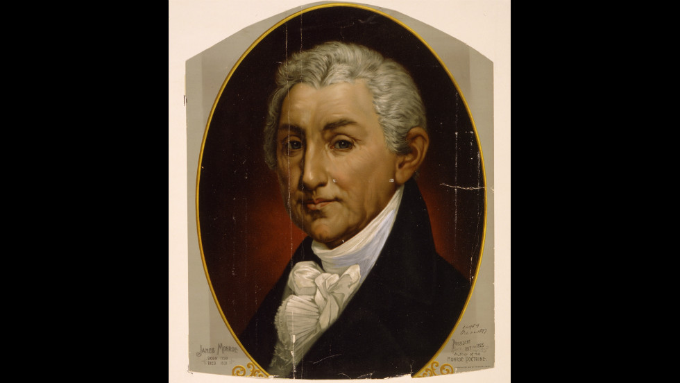 James Monroe was sworn in for his second term on March 4, 1821.